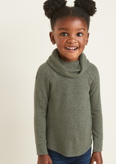 Old Navy Plush-Knit Cowl-Neck Top for Toddler Girls