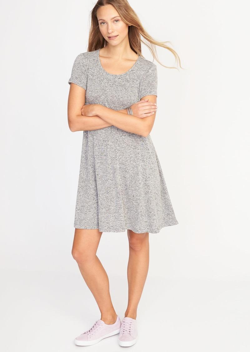 0e5ec416fab4 Old Navy Plush-Knit Swing Dress for Women