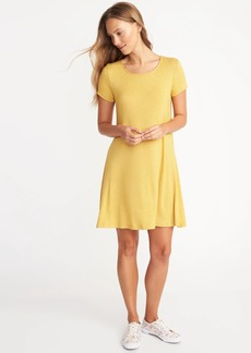 Old Navy Plush-Knit Swing Dress for Women