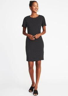 Old Navy Ponte-Knit Flutter-Sleeve Sheath Dress for Women