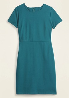 Old Navy Ponte-Knit Knee-Length Sheath Dress for Women