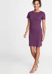 Old Navy Ponte-Knit Sheath Dress for Women