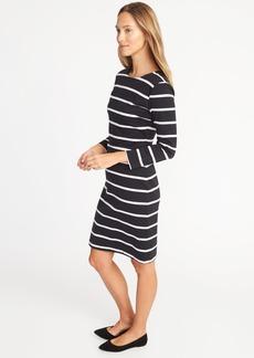 Ponte-Knit Sheath Dress for Women