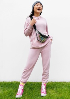 POPSUGAR x Old Navy French Terry Garment-Dyed Gender-Neutral Joggers