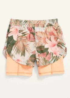 Old Navy PowerSoft 2-in-1 Run Shorts for Girls