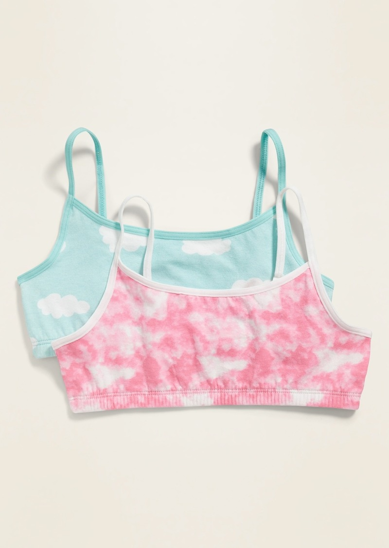 Old Navy Printed Cami Bra 2-Pack for Girls