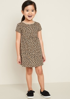 Old Navy Printed Fit & Flare Dress for Toddler Girls