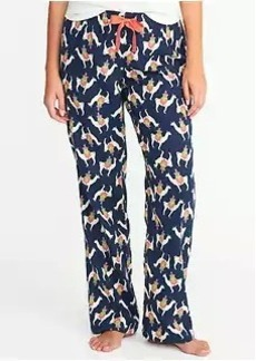 Old Navy Printed Flannel Sleep Pants for Women