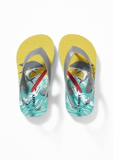 Old Navy Printed Flip-Flops For Toddler Boys