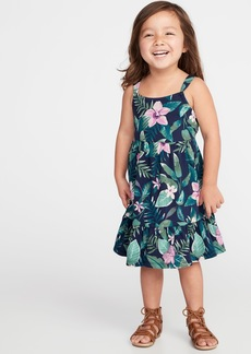 Old Navy Printed Jersey Fit & Flare Dress for Toddler Girls