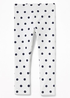 Old Navy Printed Jersey Leggings for Toddler Girls