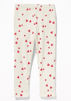 Old Navy Printed Leggings for Toddler Girls