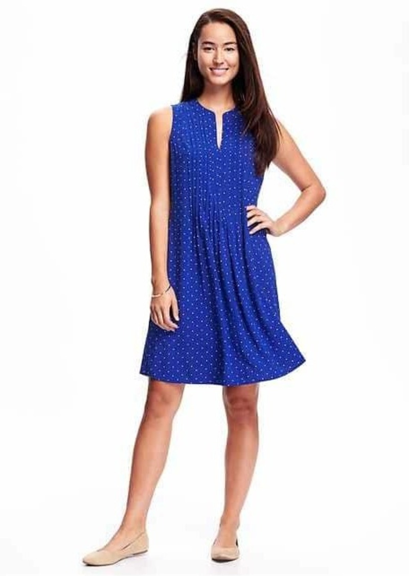 fd11e6ee06 Old Navy Printed Pintuck Swing Dress for Women