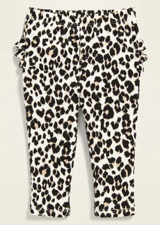 Old Navy Printed Ruffle-Back Leggings for Baby