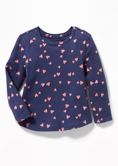 Old Navy Printed Scoop-Neck Top for Toddler Girls
