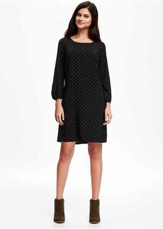 Printed Shift Dress for Women
