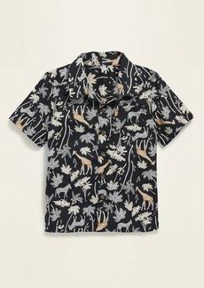 Old Navy Printed Short-Sleeve Resort Shirt for Toddler Boys
