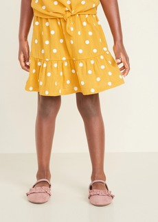 Old Navy Printed Tiered-Hem A-Line Skirt for Toddler Girls