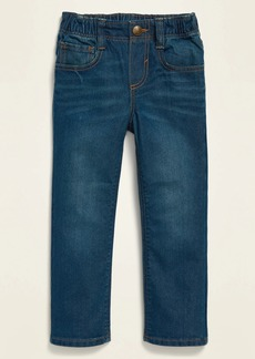Old Navy Unisex Pull-On Straight Jeans for Toddler