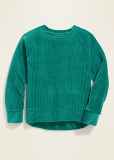 Old Navy Raglan Velour Top for Girls