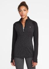 Old Navy Reflective-Trim 1/4-Zip Jacket for Women