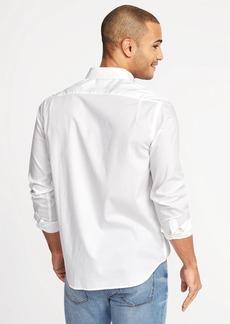 Old Navy Regular-Fit Clean-Slate Built-In Flex Everyday Shirt for Men