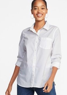 Old Navy Relaxed Classic Clean-Slate Shirt for Women