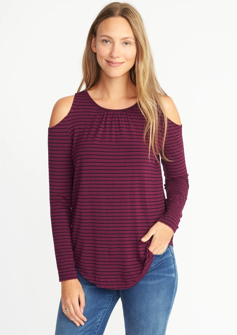 8871fe09886e9 Old Navy Relaxed Cold-Shoulder Top for Women