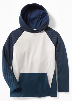 Old Navy Relaxed Color-Block Pullover Performance Hoodie for Boys