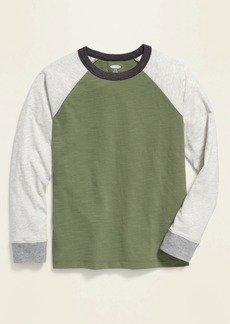 Old Navy Relaxed Color-Blocked Raglan Tee for Boys