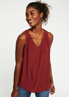Old Navy Relaxed Cut-Out Back V-Neck Tank for Women