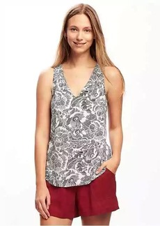 Old Navy Relaxed Cutout-Back Blouse for Women