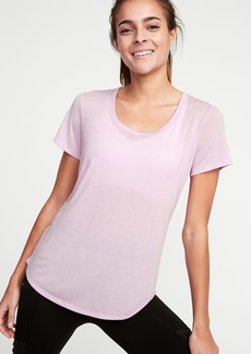 Old Navy Relaxed Cutout-Back Performance Tee for Women