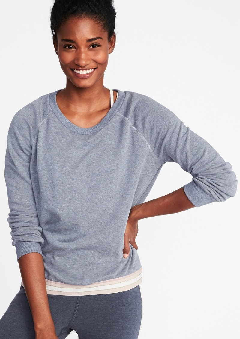 3b6b2340828 Old Navy Relaxed Exposed-Elastic French-Terry Sweatshirt for Women ...