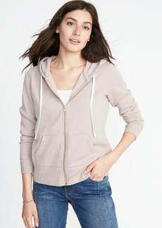 Old Navy Relaxed Full-Zip Fleece Hoodie for Women