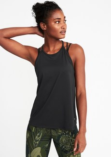 Old Navy Relaxed High-Neck Performance Swing Tank for Women