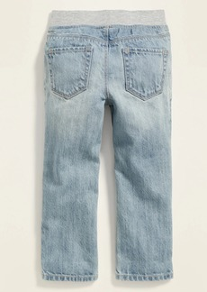 Old Navy Relaxed Jersey-Waist Pull-On Jeans for Toddler Boys
