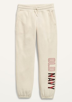 Old Navy Relaxed Logo-Graphic Sweatpants for Girls