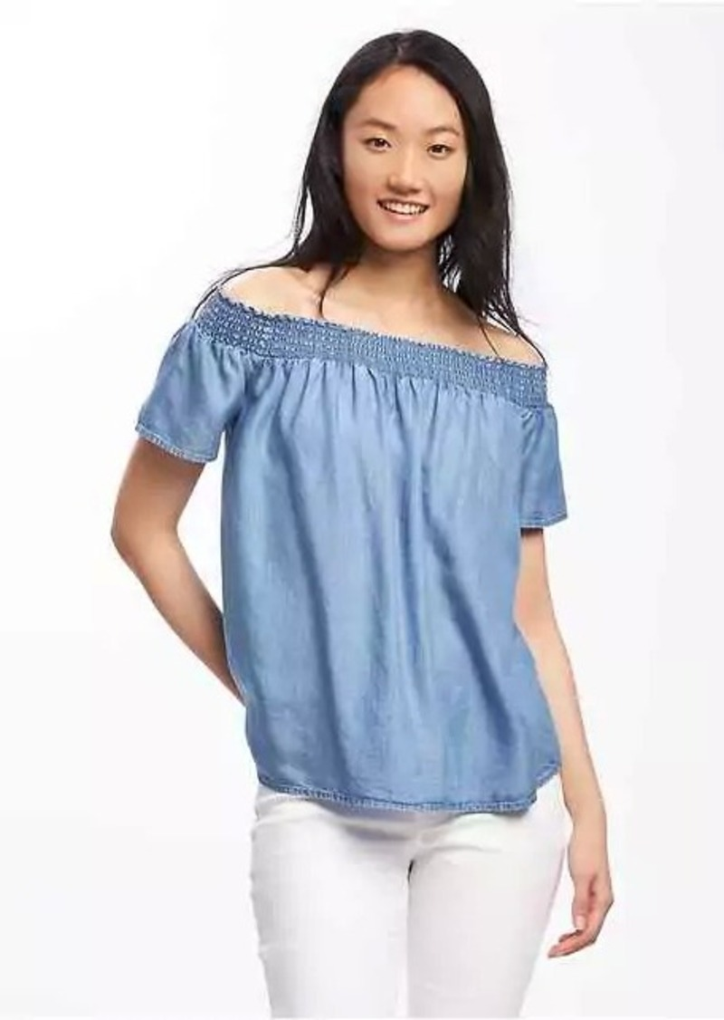 1f3e0fd5d Old Navy Relaxed Off-the-Shoulder Swing Top for Women
