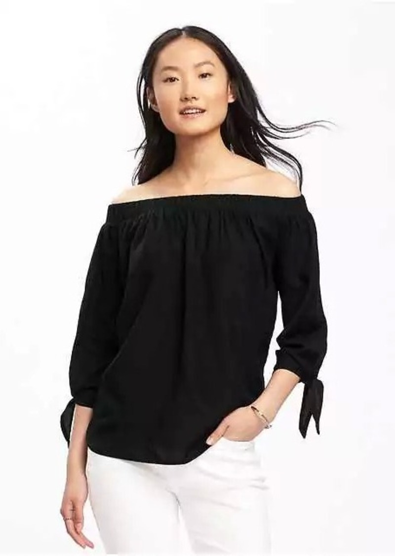 76343fd74 On Sale today! Old Navy Relaxed Off-the-Shoulder Top for Women