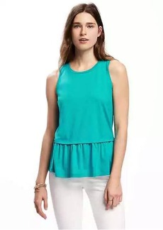 Old Navy Relaxed Peplum-Hem Tank for Women