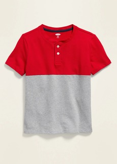 Old Navy Relaxed Pique Henley for Boys