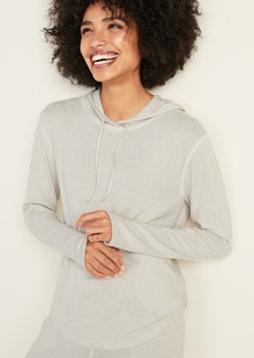 Old Navy Relaxed Plush-Knit Hoodie for Women