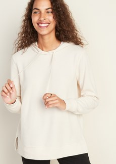 Old Navy Relaxed Rib-Knit Pullover Hoodie for Women