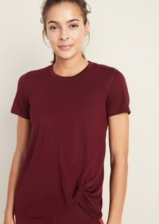 Old Navy Relaxed Side-Tie Performance Tee for Women