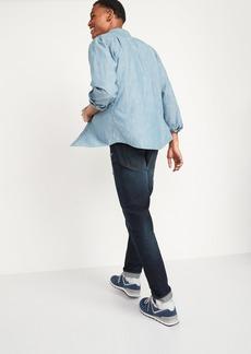 Old Navy Relaxed Slim Taper Built-In Flex Rip & Repair Jeans for Men