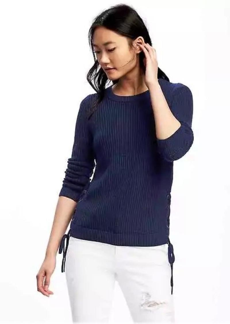 Womens sweatshirt sweaters navy old