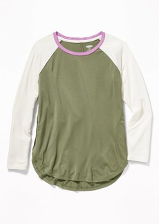 Old Navy Relaxed Tulip-Hem Tunic Tee for Girls