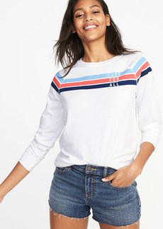 Old Navy Relaxed Vintage Fleece Sweatshirt for Women
