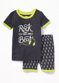 """Old Navy """"Rock to Your Own Beat"""" Sleep Set for Toddler & Baby"""